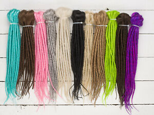 DreadLab-Short-Double-Ended-Synthetic-Dreadlocks-Pack-of-10-Extensions-25-cm