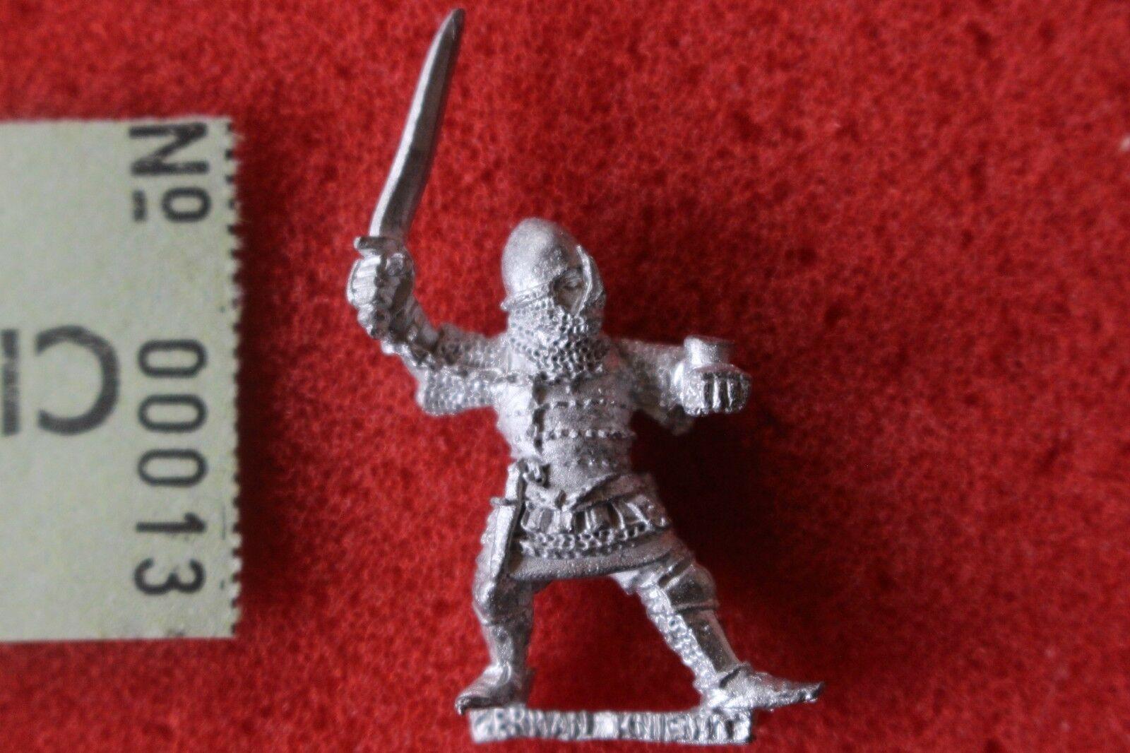 Spel arbetarhop Warhammer Bretonnian Knight Citadel män at Arms 89 Uncatalog