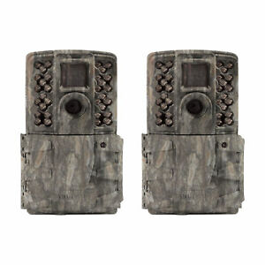(2 Pack) New 2018 Moultrie A-40I Pro Infrared No Glow 14MP Game Trail Camera