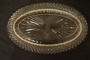 Vintage-Anchor-Hocking-Miss-America-Glass-Oval-Bowl-Beautiful