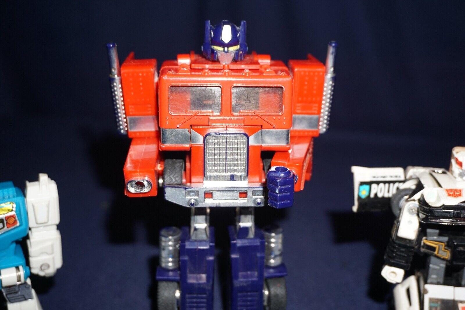 Vintage Transformers G1 Optimus Prime acecho doble giro 1984 HASBRO TAKARA
