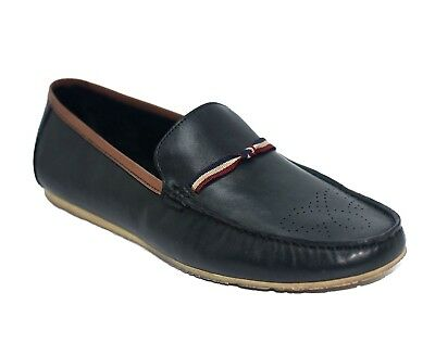 Men's Black Real Leather Size 11,10,9, Formal Wedding Office Fashion Flat Shoes
