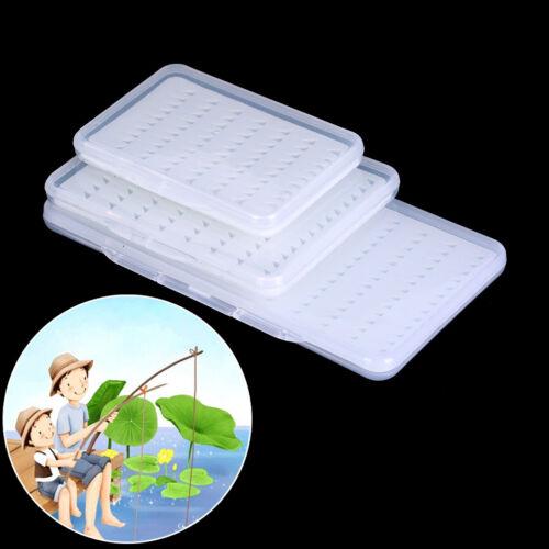 Fliegenfischen Box Super Slim Mit Schaumstoffeinsatz Transparente Hook Box  AB
