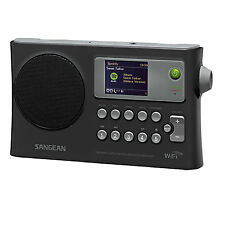 Sangean WFR-28 Internet Radio / FM-RBDS / USB / Network Music Receiver, Black