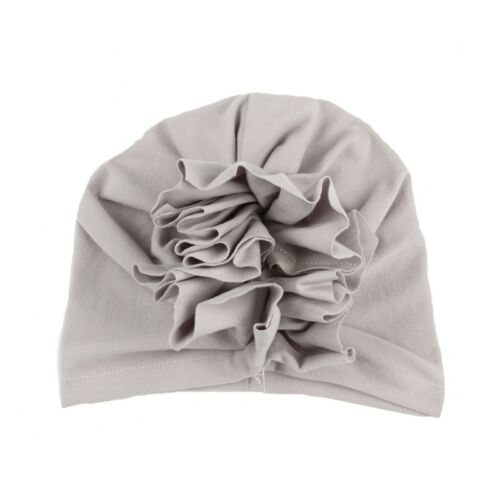 Flower Girls Baby Hat Newborn Elastic Baby Turban Hats Cotton Infant Beanie Cap