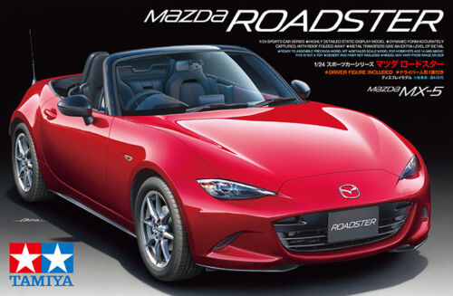 Plastic Model Kit Tamiya 1//24 Mazda Roadster MX-5 # 24342