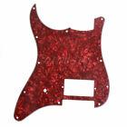 1 Left 3 Ply Red Pearl Pickguard Single Humbucker for Fender Strat Stratocaster