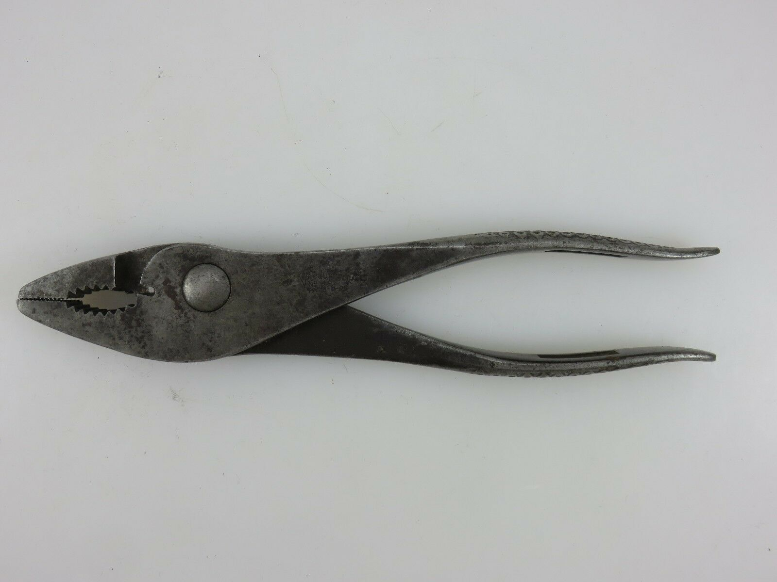Forged Steel Products Vacuum Grip Slip-Joint Pliers Model 49 Vintage Made In USA