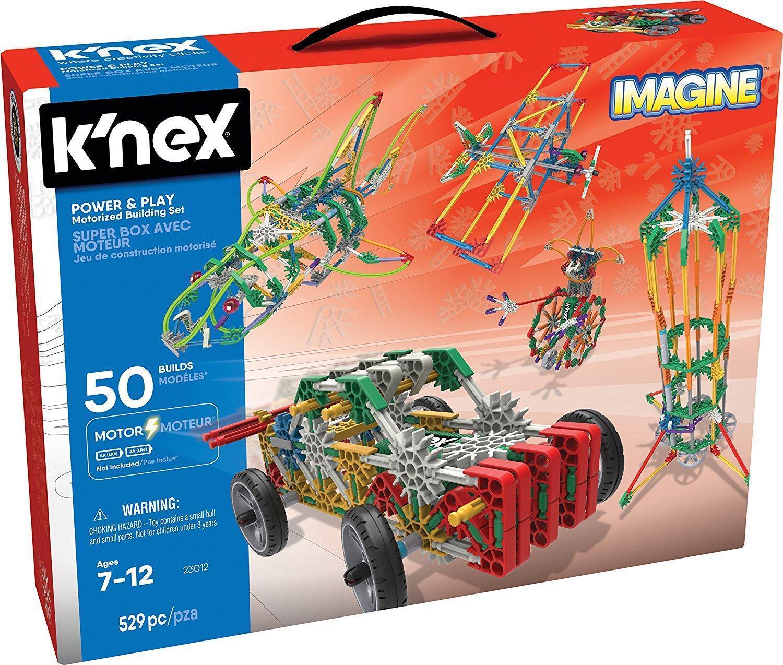 K'nex Power And Play Motorised Building Set 529 Pieces 23012