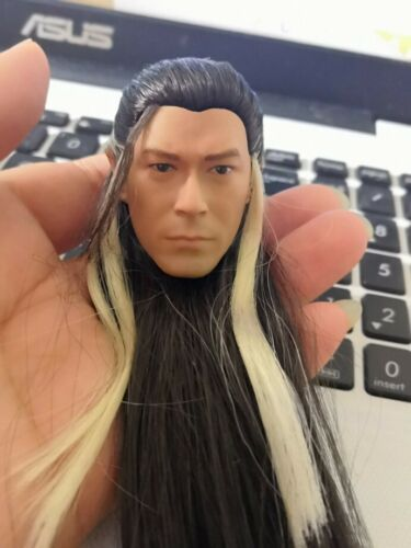 1//6 Yang Guo Louis Koo Head Carving Rooted Hair Male Head Carving F 12/'/' Figure