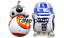 Helium BALL Ballon XL Star Wars lot de 2 Ballon Anniversaire Fête BB8 ET R2D2