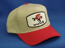Springfield Garden Tractor Hat - Red / Khaki - High Crown