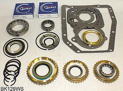 Vital Parts SRK107 Synchro Ring Kit Fits Chevy GMC Ford T5 5 Speed Transmission Non World Class