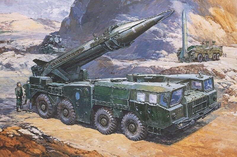 Ss-1C 'Scud B' W Maz-543 Tel. Kit DRAGON 1 35 DR3520