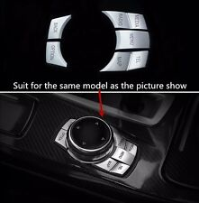 Interior Multimedia Driver Buttons Decal Cover Trim For BMW 5/6 series GT F10