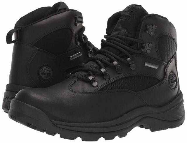 patio de recreo Cartero Citar  Timberland Chocorua Trail Mid Waterproof 18193 Mens Black Hiking BOOTS  Shoes 12 for sale online   eBay