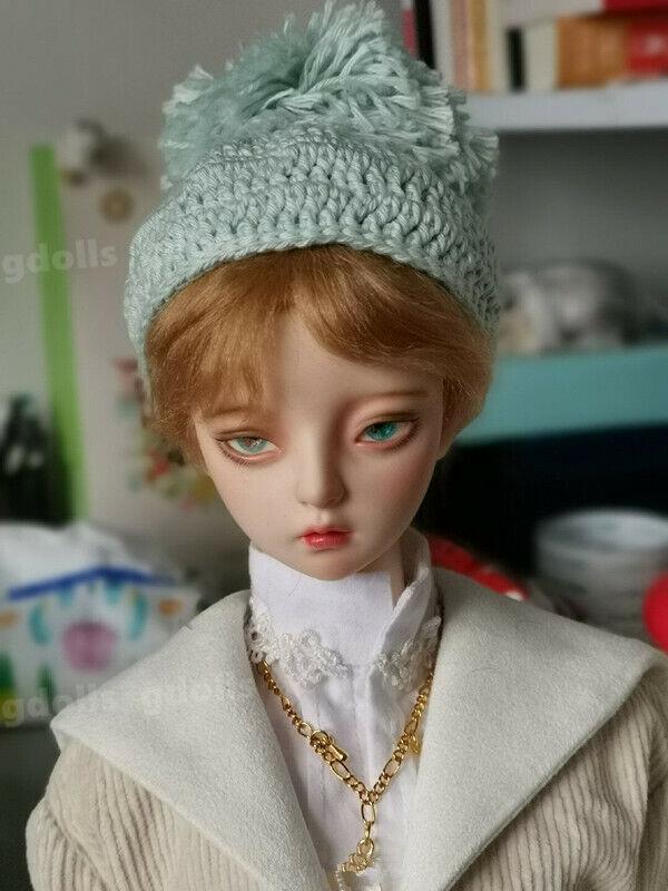 1//4 BJD SD Dolls Handsome Boy Male Resin Bare Doll Face Makeup Eyes