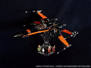 Presentoir-incline-emplacements-pour-75102-Poe-039-s-x-wing-Fighter-Star-Wars-LEGO
