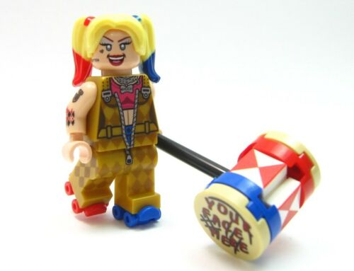 CUSTOM LEGO HARLEY QUINN Birds of Prey
