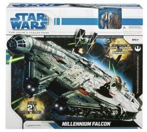 Star-Wars-Legacy-Collection-Millennium-Falcon-NEU-amp-VERSIEGELT-Hasbro-Falke