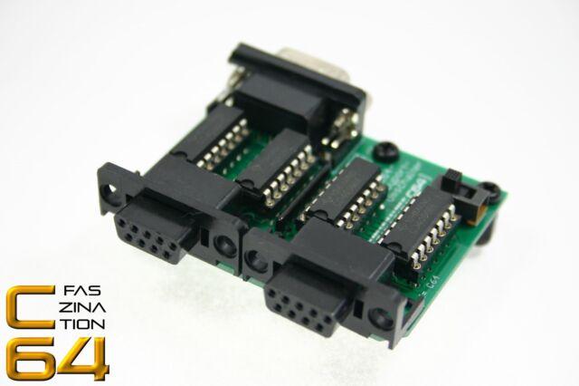 Faszination C64   Joyport-Umschalter/Switcher für Commodore 64, Neuware   #1801