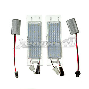 Vauxhall-18-LED-Number-License-Plate-Light-Bulbs-Lamps-Xenon-White-6000K