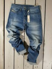 DIESEL Tepphar 0814W W29-W36 L32 Jeans Denim Uomo Stretch Slim Fit Carota