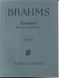 Brahms-Sonaten-fuer-Violine-und-Klavier-Urtext