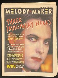 Details about Melody Maker May 30 1987 The Cure Sly & Robbie Laurie  Anderson Danielle Dax