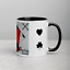 thumbnail 4 - Afghan Kite Design Coffee Mug - Stylish & Sleek ( Design Name Black-Jack )