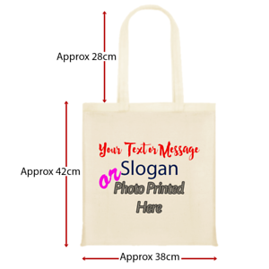 f3fffed30a94 Image is loading Personalised-Tote-Bag-For-Shopping-Gift-Teacher-Birthday-