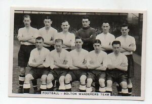 60-1930s-BOLTON-wanderers-team-Collector-Sports-card