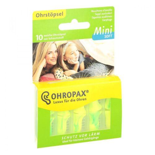 Ohropax Mini Soft 10 Ohrstöpsel in Dose auch für Kinder geeignet