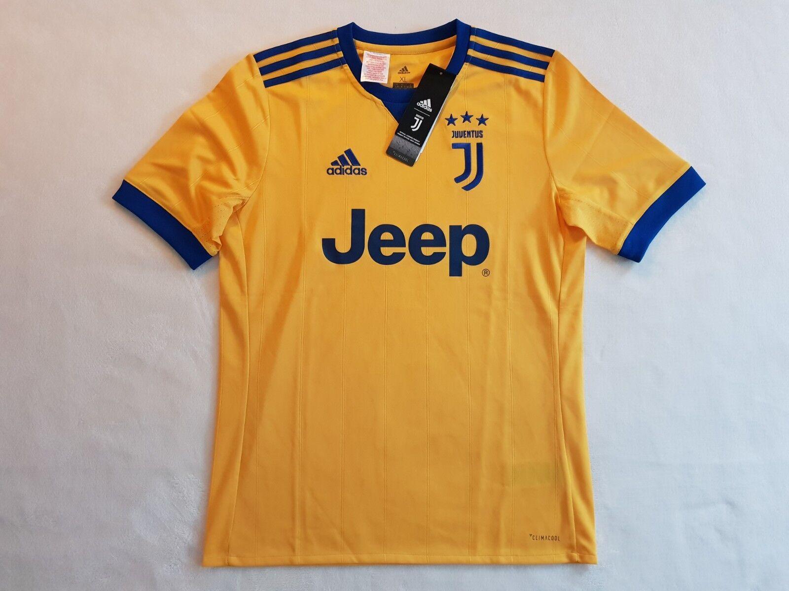 Juventus Turin Trikot Away 2017 18 Adidas Größe M L -NEU- Juve