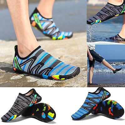 Mens Water Beach Shoes Barefoot Skin Socks Quick-Dry Aqua Swim Yoga Size 7-12