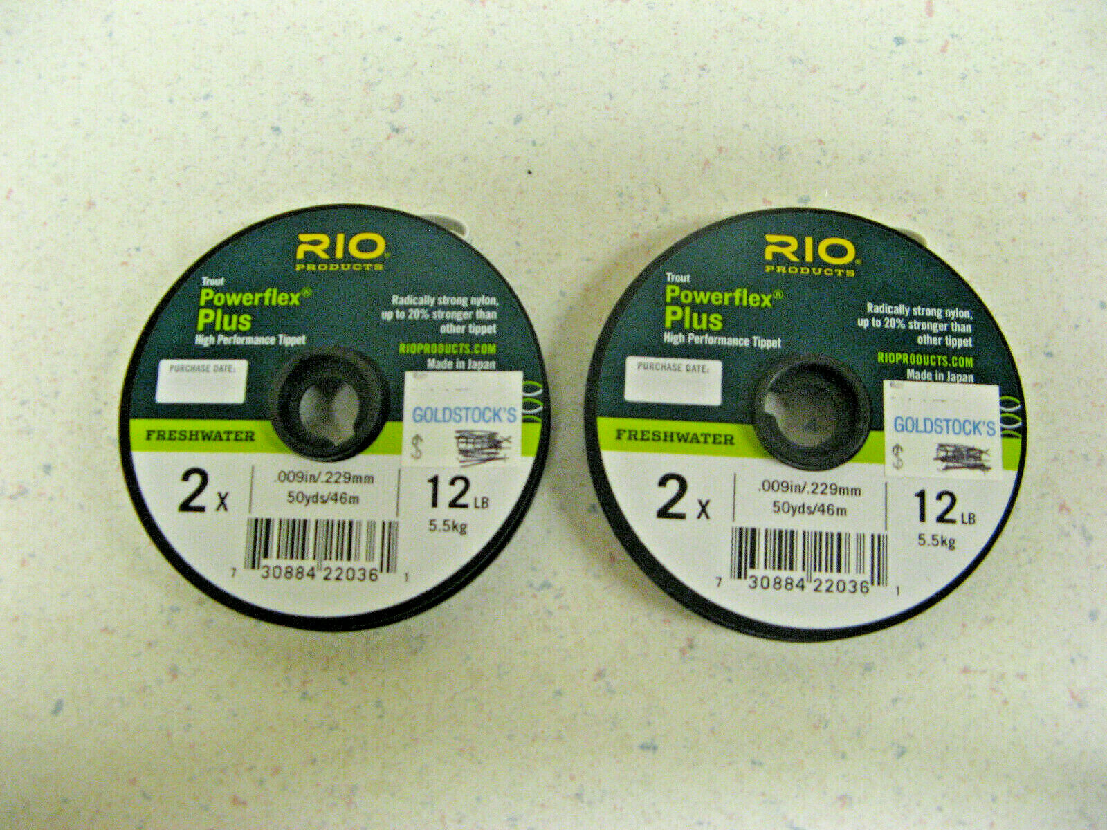 RIO Products Leaders Bass Leaders 9 12Lb 5.5kg Clear