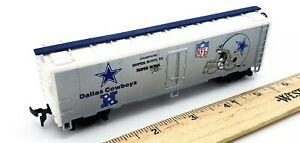 HO-Scale-1991-Mantua-Train-Super-Bowl-Exp-NFL-Dallas-Cowboys-1st-Edition