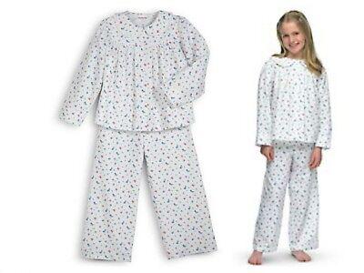 American Girl Emily Pigiama Pj's Bambina Taglia Small S (7 - 8) Spedizione Sapore Fragrante (In)