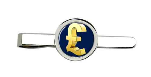 Libra oro £ Clip De Corbata