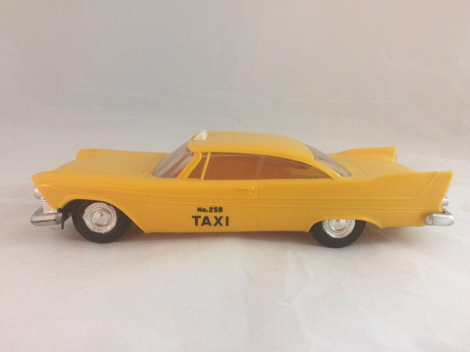 caliente Vintage 1958 Plymouth Belvedere Belvedere Belvedere Taxi Cab Promo Modelo de Coche jo-han  precios al por mayor
