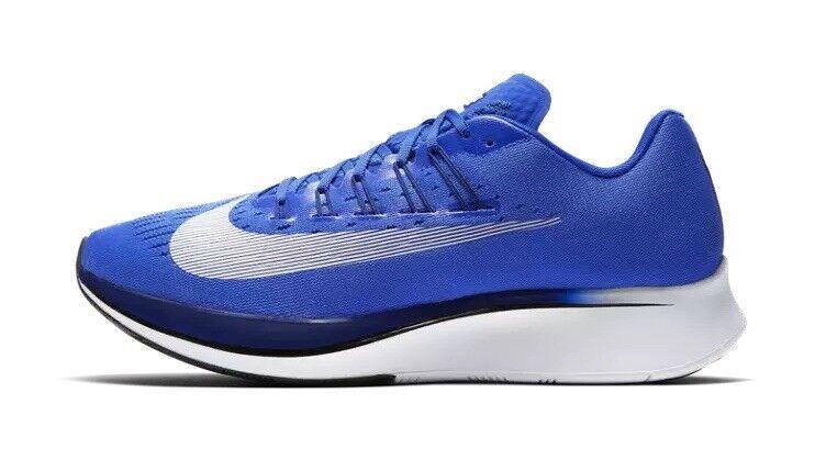 nike zoom volare le scarpe da corsa uomini dimensioni 7 donne 8,5 royal bianco e blu 880848 411