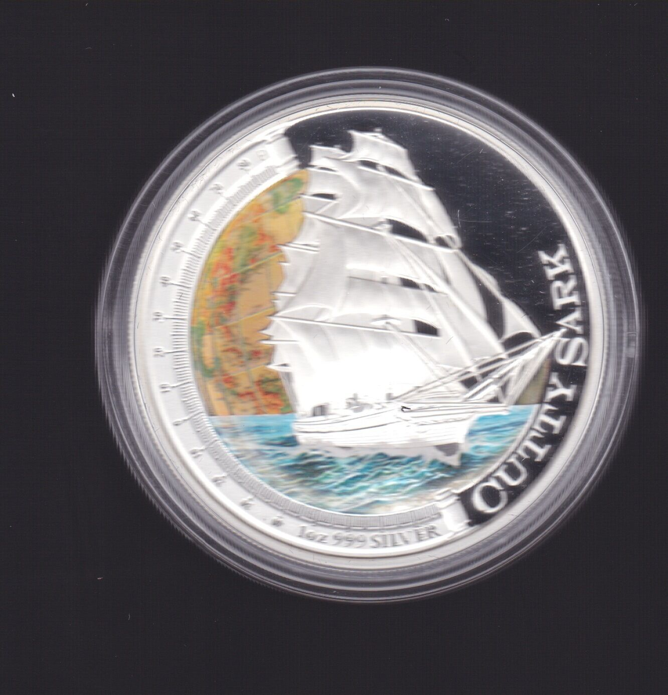 """2012 MAYFLOWER /""""SHIPS THAT CHANGED THE WORLD/"""" 1oz Silver Proof Coin"""