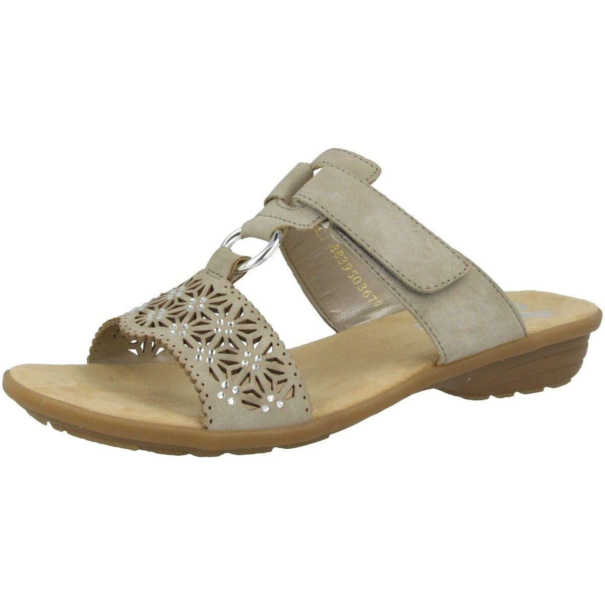 Rieker Noida Sautope Donna Anti-stress Seali Pantofole Nebbia V3411-60