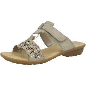 Rieker Lugano damen Schuhe Damen Antistress Pantoletten