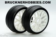 1:8 Sintec GT Rubber Slick White Spoke Rim S054 40 shore Free shipping
