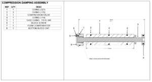 Cannondale Lefty Max 130 TPC Foam Compensator Compression Damper