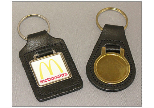 x10 Bonded Leather Blank Key Fobs; Doming Business Opportunities Personalising