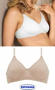 Naturana 7586 Underwired Bra Organic Cotton Soft Moulded Cup