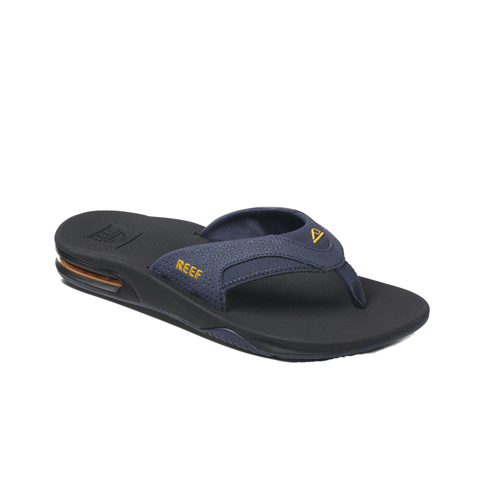 REEF MENS FLIP FLOPS.NEW FANNING NAVY ARCH SUPPORT THONGS SANDALS schuhe 9S 6 NAY