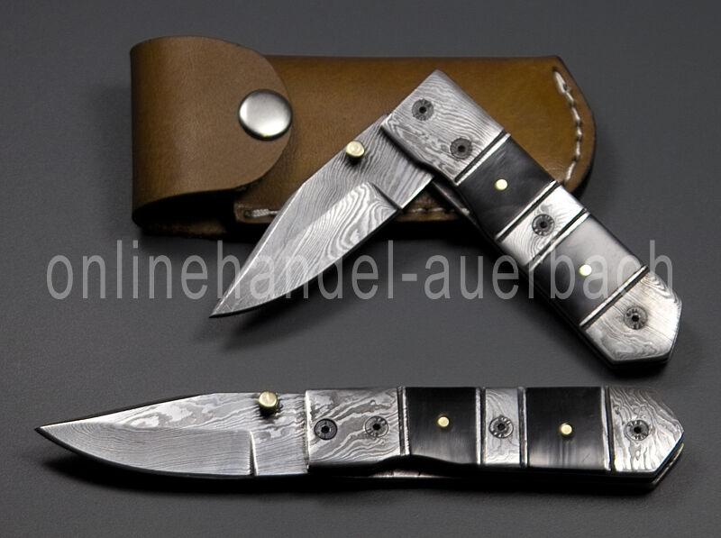 Damastmesser Damaszenermesser Taschenmesser Klappmesser Messer